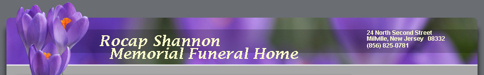 Rocap Shannon Memorial Funeral Home